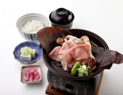 朴葉味噌焼き定食の画像